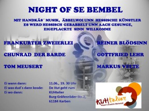 NIGHT OF SE BEMBEL