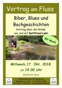 Vortrag am Fluss - Gottfried Lehr - 17.10.2018